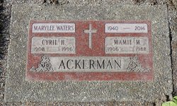 Cyril H Ackerman