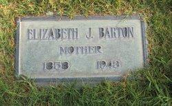 Elizabeth J <i>Jessop</i> Barton