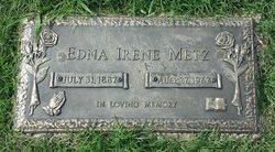 Edna Irene <i>Polk</i> Metz