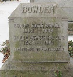 Ellen Evangeline <i>Jones</i> Bowden