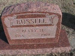 Betty <i>Hankins</i> Bussell