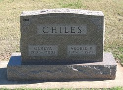 Archibald Ray Archie Chiles