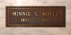 Minnie Edwards <i>Edwards</i> Boyle