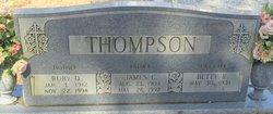 Ruby O. <i>Dove</i> Thompson