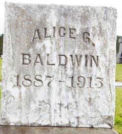Alice G <i>Koontz</i> Baldwin