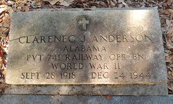 Clarence J Anderson