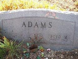 Allie Myrtle <i>Parks</i> Adams