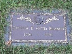 Cecilia B <i>Otte</i> Branch