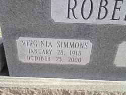 Edith Virginia <i>Simmons</i> Roberts