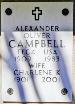 Alexander Oliver Campbell