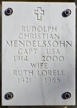 Rudolph Christian Mendelssohn