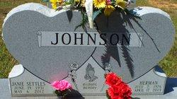 Janie <i>Settles</i> Johnson
