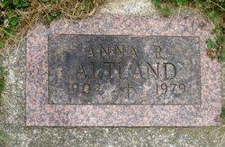 Anna Rebecca <i>Gebhart</i> Altland
