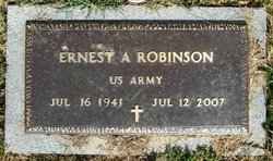 Ernest A Robinson