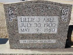 Lillie May <i>Johnson</i> Abee