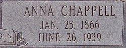 Anna <i>Chappell</i> Ewing