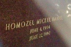 Mrs Homozel Micky <i>Mickel</i> Daniel