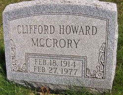 Clifford Howard McCrory