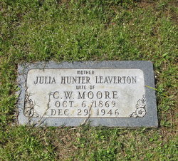 Julia Hunter <i>Leaverton</i> Moore