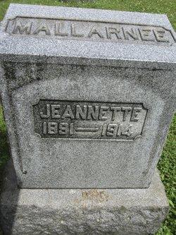 Jeannette Mallarnee