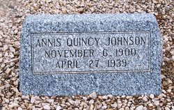 Annis Quincy Johnson
