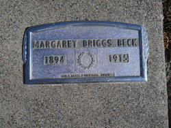 Margaret Esther <i>Briggs</i> Beck