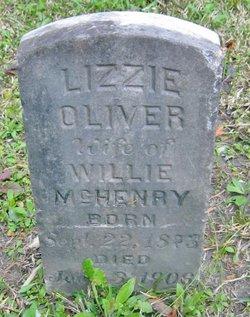 Lizzie <i>Oliver</i> McHenry