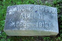 Blanche <i>Slocum</i> Allen