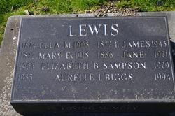 Ella May <i>Douglas</i> Lewis