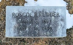 Roscoe Raymond Rudder