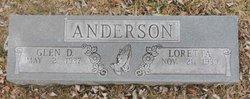 Glen D Anderson