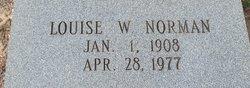 Ina Louise <i>Wright</i> Norman