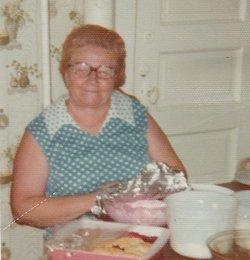 Edna L. <i>Milburn</i> Bates