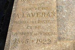 Dr Charles Louis Alphonse Laveran
