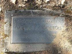 Maude A Charlton