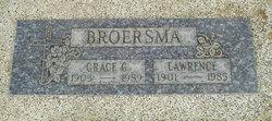 Grace Gertrude <i>Wichers</i> Broersma