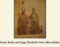 Elizabeth Peggy <i>Clark</i> Allison Butler