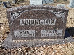 Edith Pearl <i>Curtis</i> Addington
