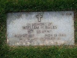 William H Bales