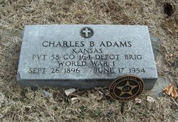 Pvt Charles Barnard Charley Adams