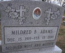 Mildred Mae <i>Briscoe</i> Adams