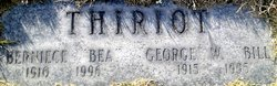 George W Bill Thiriot