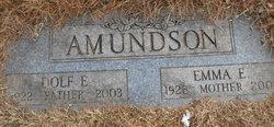 Emma <i>Wilbur</i> Amundson
