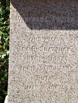 Ida Bell <i>Shattuck</i> Foster