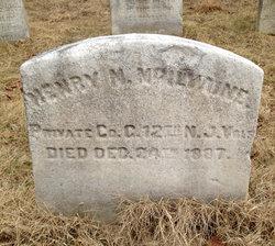 Pvt Henry M. McIlvaine