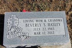 Beverly Sue <i>McBain</i> Hasley
