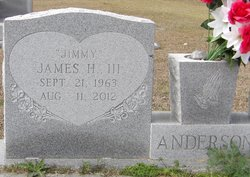 James H Jimmy Anderson, III