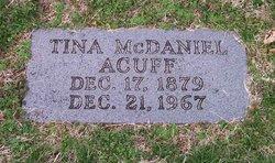 Tina Irvine <i>McDaniel</i> Acuff