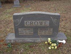 Bertha <i>Swofford</i> Crowe