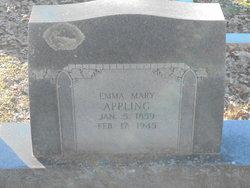 Emma Mary Elizabeth <i>Cox</i> Appling